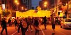 Campinas: PM prende 14  em protesto (Raul Pereira/G1)