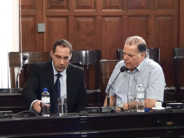 José Roberto Poianas depõe na Comissão Processante em São Carlos (Foto: Chico Francelin/EPTV)