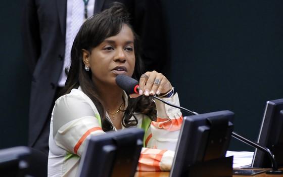 A deputada Tia Eron (PRB-BA) (Foto: Lucio Bernardo Junior / Câmara dos Deputados)