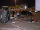 Acidente no Anel Rodoviário deixa uma pessoa morta e 2 feridas em BH