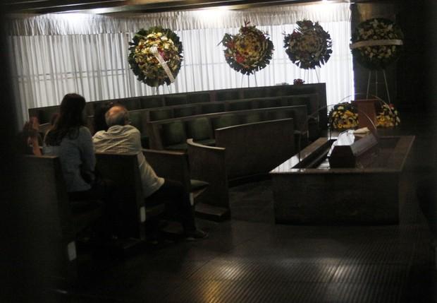 Cremação de Ada Chaseliov (Foto: Celso Tavares/ EGO)