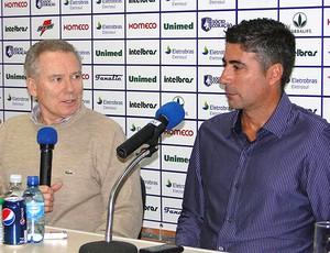 Alexandre Gallo é apresentado no Avaí (Foto: Divulgação / Site Oficial do Avaí)