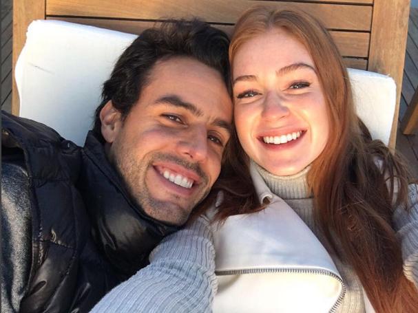 Marina Ruy Barbosa e o noivo (Foto: Reprodução/Instagram)