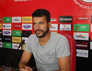 Gledson, goleiro do Campinense (Foto: João Brandão Neto / GloboEsporte.com)
