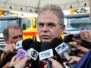 Obras do Marechal Rondon já estão 85% prontas para a Copa, diz presidente da Infraero, Gustavo Vale. (Foto: Renê Dióz / G1)