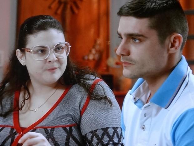 Rapaz não cansa de implicar com cunhado (Foto: TV Globo)