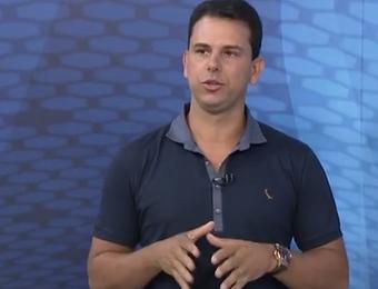 Rodrigo Cintra árbitro comentarista (Foto: Reprodução/ TV Globo)
