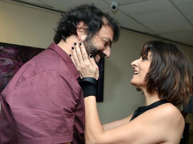 Tuto Ferraz e Fernanda Abreu em show no Rio (Foto: Cristina Granato/ Divulgação Fernanda Abreu)