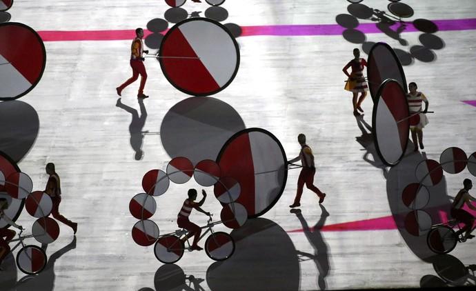 Cerimônia de Abertura da Paralimpíada (Foto: Reuters)
