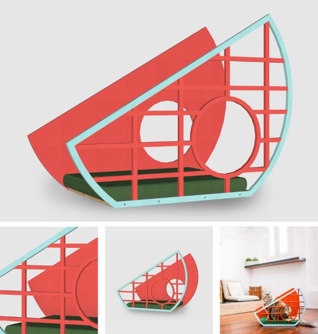 design-mobilia-para-gatos-toh-eelaine (Foto: Divulgação)