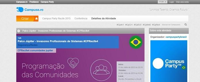 Acesse o site campuse.ro (Foto: Reprodução/Gabriel Ribeiro)