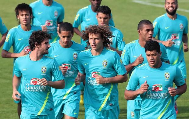 Jogadores, Seleção Brasileira Treino (Foto: Rafael Ribeiro / CBF.com)