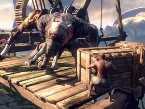 """""""God of War: Ascension"""" tem data de lançamento prevista para 12 de março de 2013. (Foto: Divulgação)"""