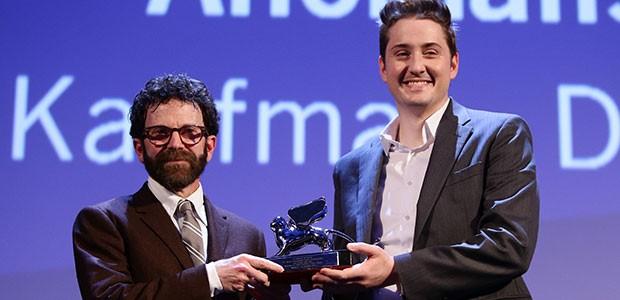 Charlie Kaufman e Duke Johnson, do stop motion 'Anomalisa' (Foto: Getty Images)