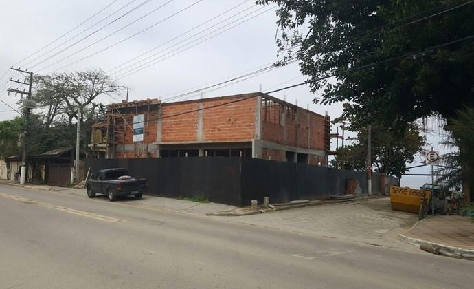 Instituto Gabriel Medina construção Maresias São Sebastião (Foto: Verônica Naviskas/ Divulgação)