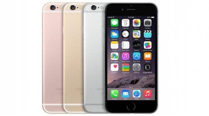 iPhone 6S terá duas novas cores: Ouro rosé e Rosa pink (Foto:Reprodução/GSMArena) (Foto: iPhone 6S terá duas novas cores: Ouro rosé e Rosa pink (Foto:Reprodução/GSMArena))