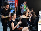 Acompanhe o backstage do segundo dia do Fashion Rio