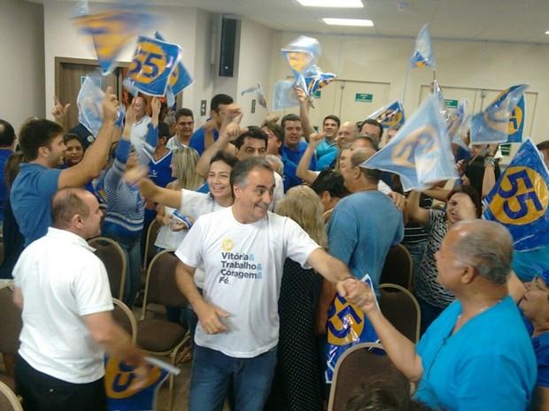 Luciano Cartaxo (PSD) foi reeleito prefeito de João Pessoa (Foto: Angélica Nunes/Jornal da Paraíba)