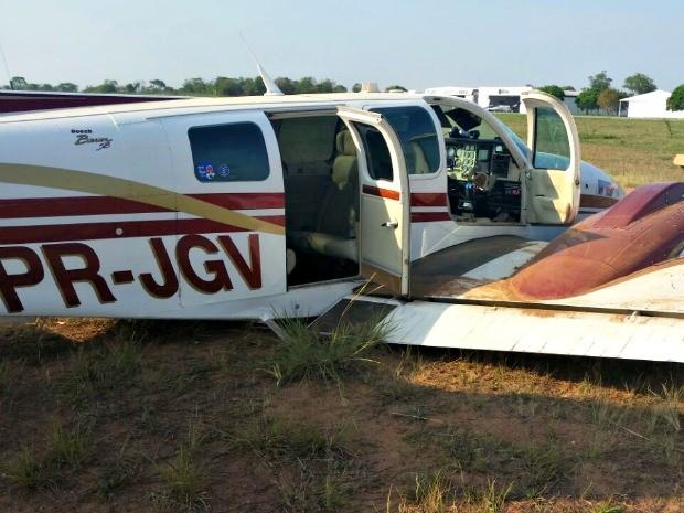 Avião teve falha mecânica ao decolar nesta terça-feira (30) (Foto: Durcy Arévalo/ Arquivo pessoal)