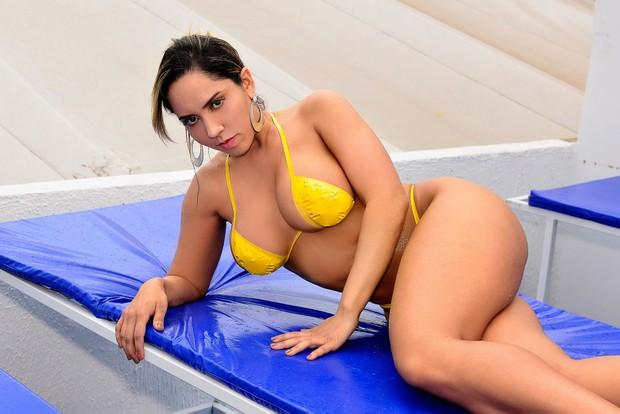 Mulher Melão (Foto: Roberto Teixeira / EGO)