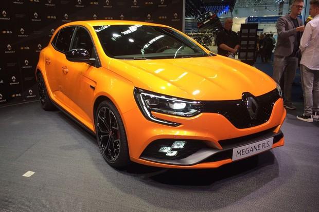 Renault Megane RS foi apresentado em Frankfurt (Foto: Tereza Consiglio/Autoesporte)