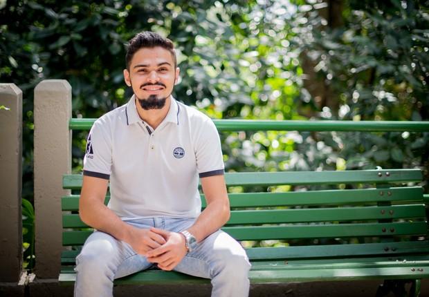 Sandoel planeja fazer um pós-doutourado e, depois, se tornar professor em sua cidade natal (Foto: Camille Garzon / G.LAB)