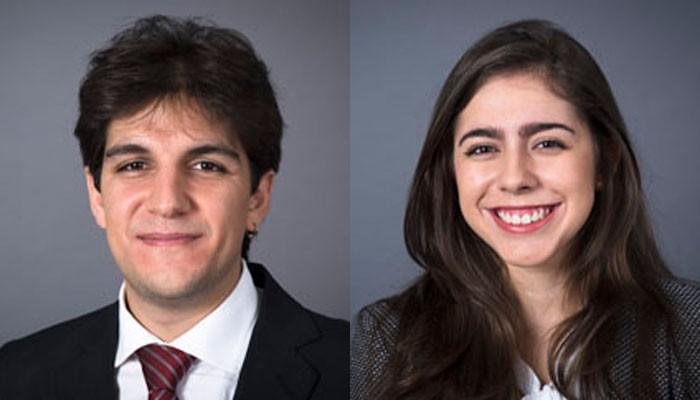 Hani Rocha El Bizri e Marina Demaria Venâncio (Foto: Divulgação)