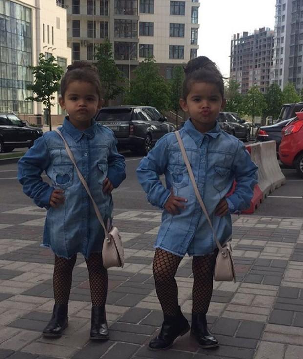 Rafaella e Sophia (Foto: Reprodução/Instagram)