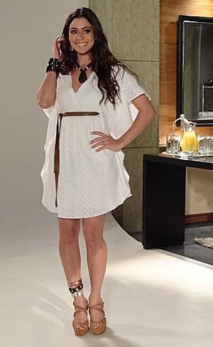 Jacira arrasa no ensaio fotográfico (Foto: Amor Eterno Amor/TV Globo)