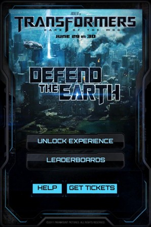 Transformers 3: Defend The Earth