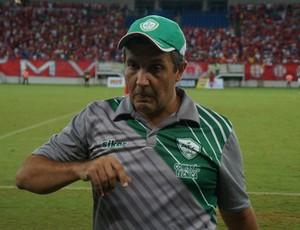 Anthoni Santoro, técnico do Alecrim (Foto: Augusto Gomes/GloboEsporte.com)