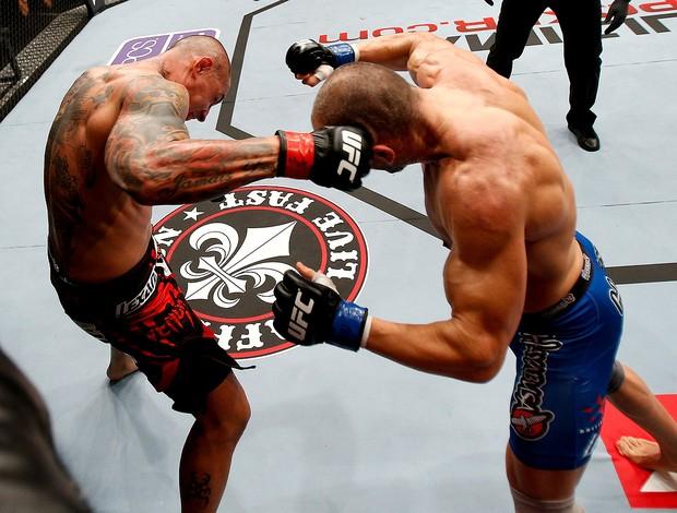 Thiago Silva x Stanislav Nedkov UFC luta  (Foto: Divulgação / UFC)