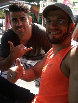 Diego Costa e Ulisses Freitas (Foto: Reprodução/Facebook)