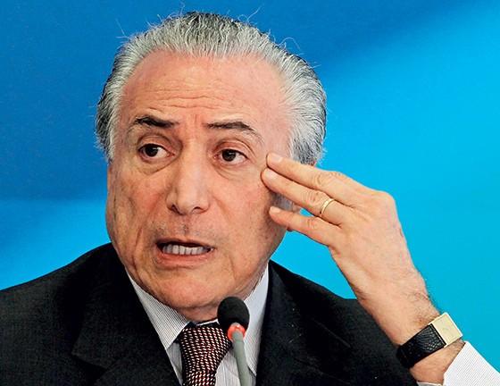 O vice-presidente Michel Temer (Foto: Givaldo Barbosa/Agência O Globo)