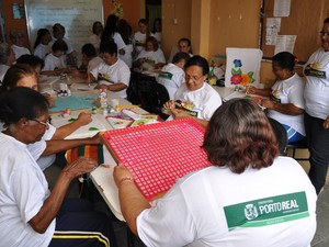 Programa social de Porto Real, RJ (Foto: Divulgação/PMPR)