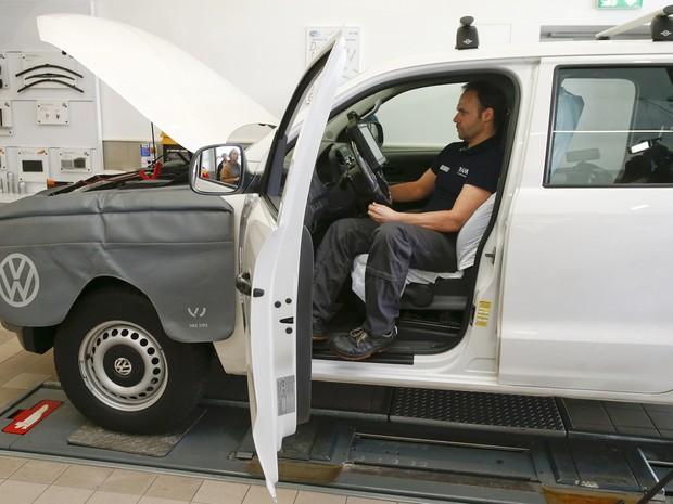 Alemanha quer teste surpresa para checar emissão de poluentes de carros (Foto: REUTERS/Arnd Wiegmann)