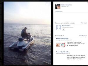 Suspeitos ostentavam com motos aquáticas (Foto: Divulgação/Polícia Civil)
