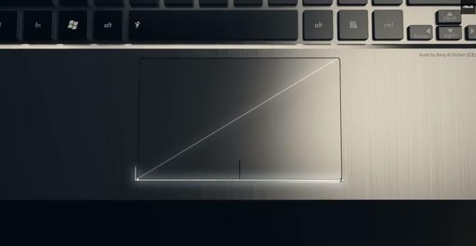 É possível destraver o mousepad através de teclas ou das configurações do sistema (Foto: Reprodução/Asus)