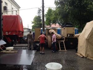 Encerramento ocorreu às 16h30 deste sábado (18) (Foto: Narayanna Borges / Inter TV)