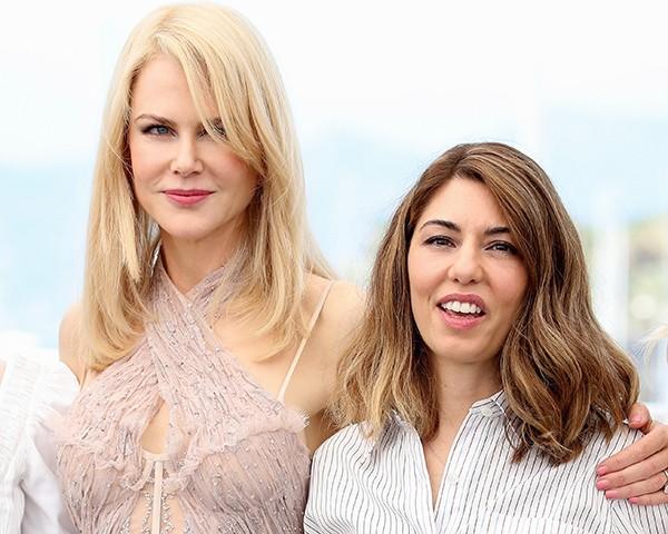 Nicole Kidman e Sofia Coppola, em Cannes (Foto: Getty Images)