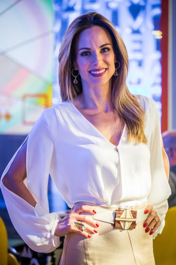 Ana Furtado, apresentadora do É de Casa (Foto: Paulo Belote/Globo)