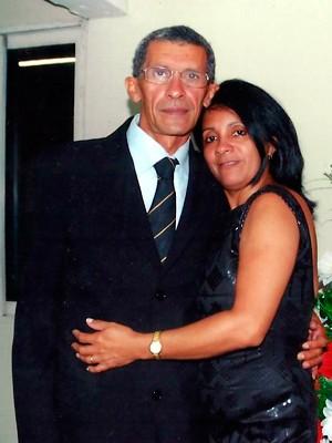 Selma com o marido João Maria, que também já se candidatou a cargos públicos no RN (Foto: Arquivo pessoal/Selma Silva)