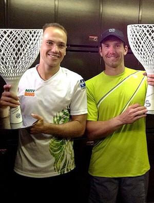 Tênis Bruno Soares e Peya atp de Barcelona (Foto: Reprodução / Instagram)