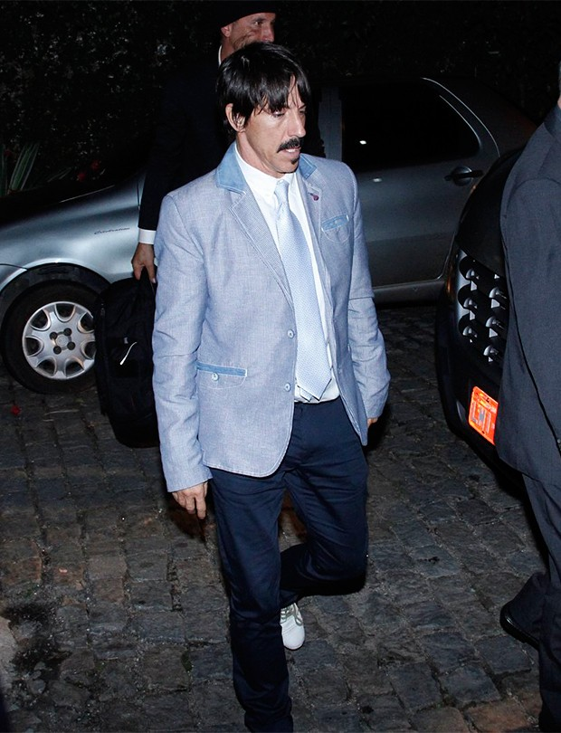 Anthony Kiedis do Red Hot Chili Peppers (Foto: Marcos Ferreira/ BrazilNews)