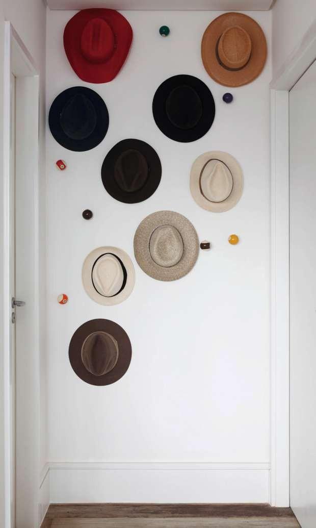 Coleção de chapéus (Foto: Evelyn Müller/Editora Globo)