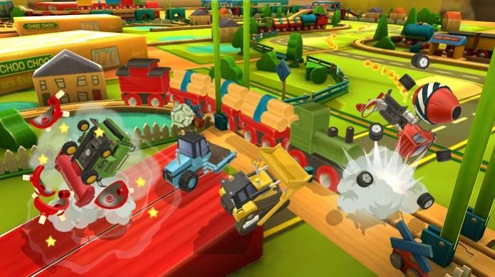 Toybox Turbos ganhou novo vídeo mostrando as pistas do game (Foto: Divulgação) (Foto: Toybox Turbos ganhou novo vídeo mostrando as pistas do game (Foto: Divulgação))