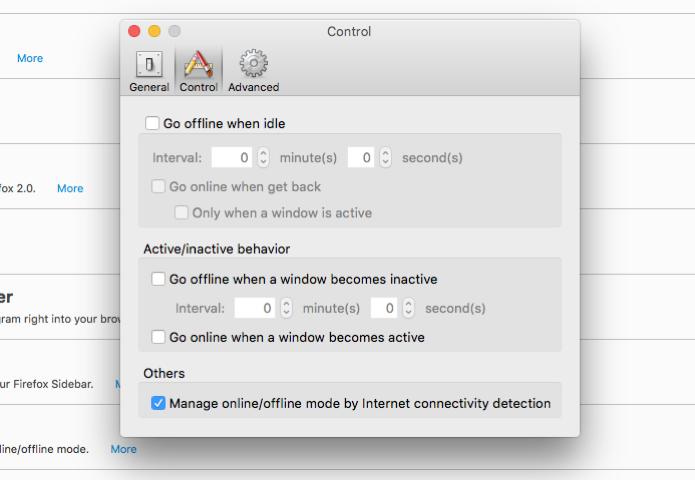 Opções de configuração do Add On (Foto: Reprodução/André Sugai)