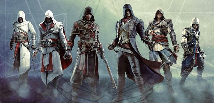 Conheça os heróis da saga Assassins Creed (Foto: Divulgação)