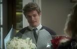 Antônio leva flores para Ruty Raquel