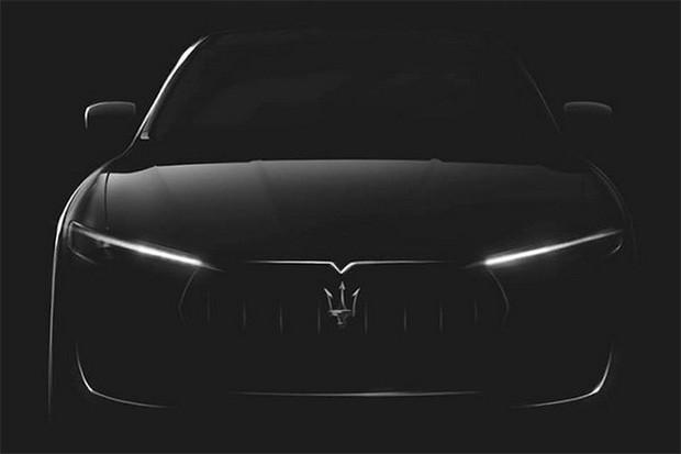Maserati revela um pouco de seu SUV em teaser (Foto: Maserati)